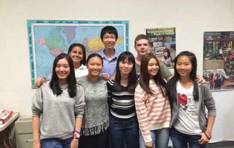 Foreign exchange students brighten LHS