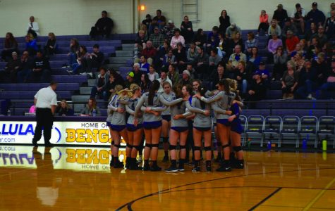 Volleyball season ends at regionals