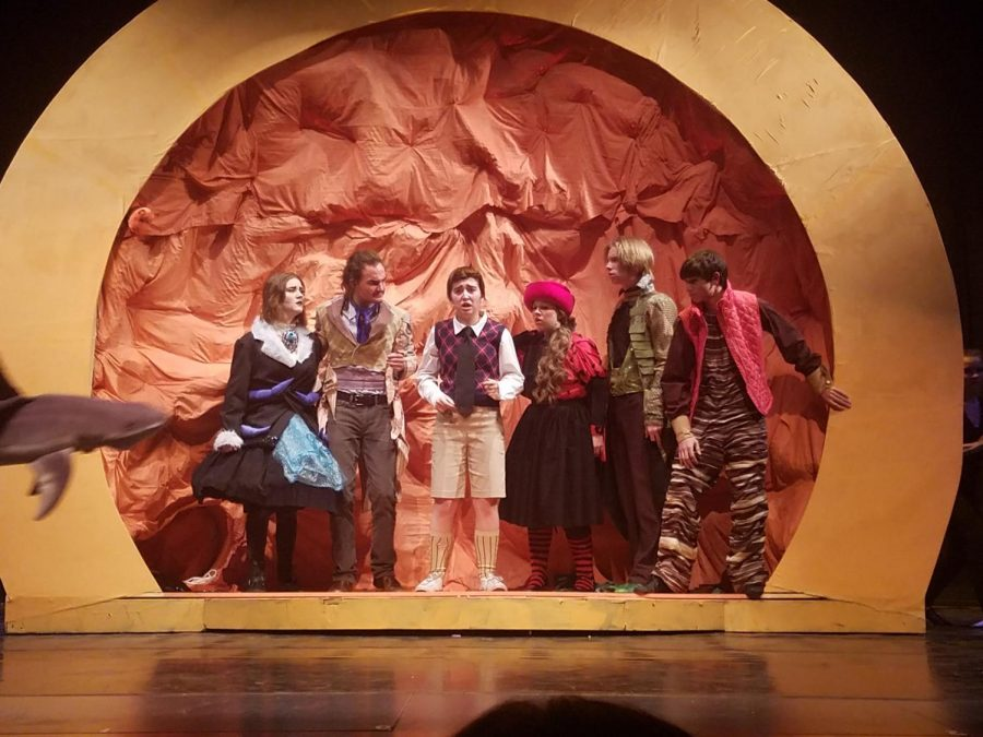 James and the Giant Peach plays at the Clarkston High School auditorium through Dec. 16.