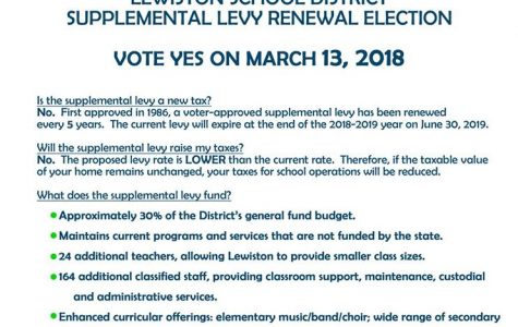 Lewiston schools hope to pass levy for funding