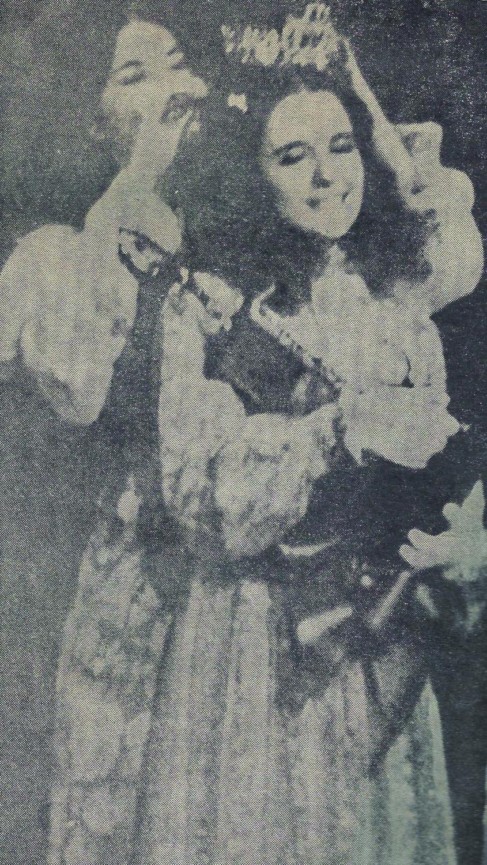 Martha Williams wins the 1972 LHS Junior Miss.