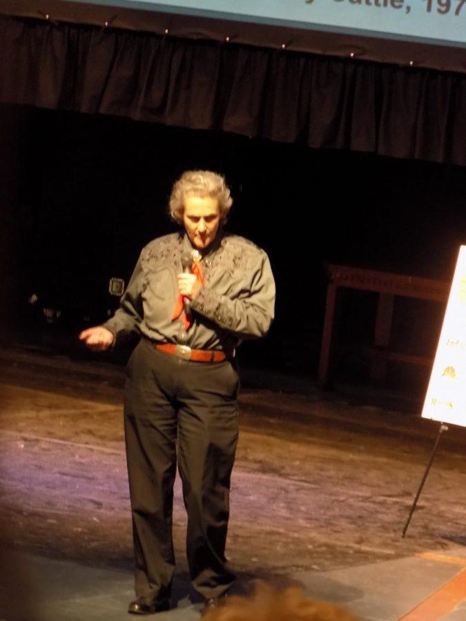 Dr.+Temple+Grandin+spoke+at+Clarkston+High+School+March+7.+