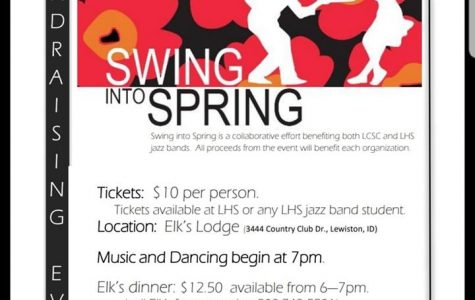 Jazz bands will Swing into Spring April 27