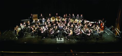 Band, choir concerts set for March 18, 19