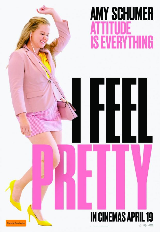 Amy+Schumer+feels+like+herself+in+a+promotional+poster+for+%22I+Feel+Pretty.%22+Photo+courtesy+of+Creammagazine.com