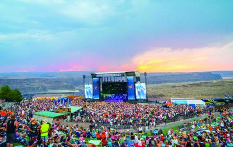 Summer 2018 Northwest concert checklist