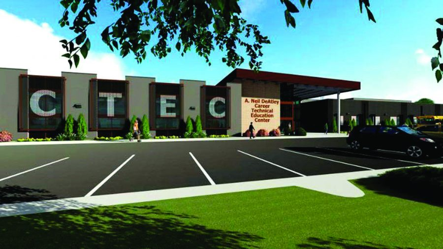 DeAtley family donates groundbreaking $2 million for new Career-Technical building