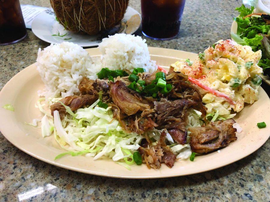 Imua Hawaiian style resturant offers unique food