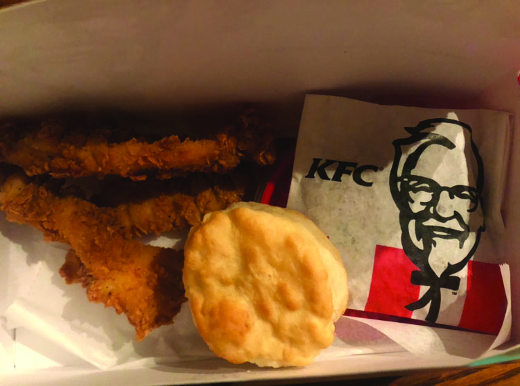 KFC strikes back at new Lewiston location