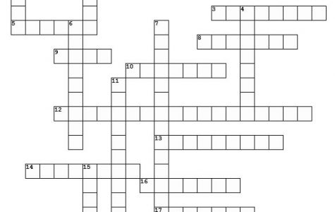Cubs Go Camping crossword puzzle