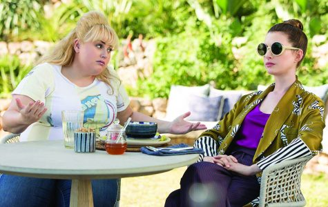 Penny (Wilson) and Josephine (Hathaway) discuss their new plan. .