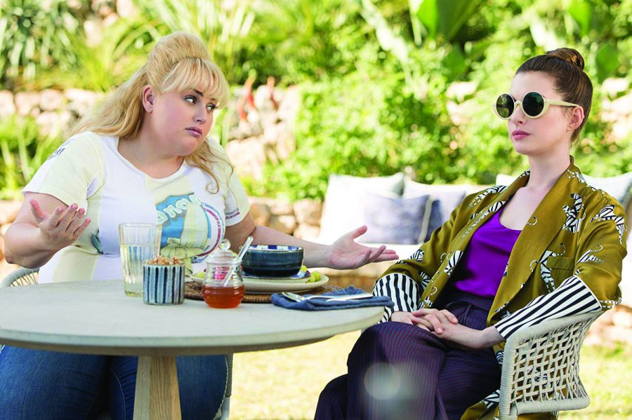 Penny (Wilson) and Josephine (Hathaway) discuss their new plan. Photo courtesy of IMDb.com.