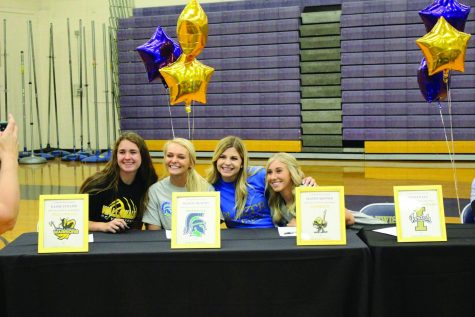 Senior Bengal athletes sign to colleges May 23