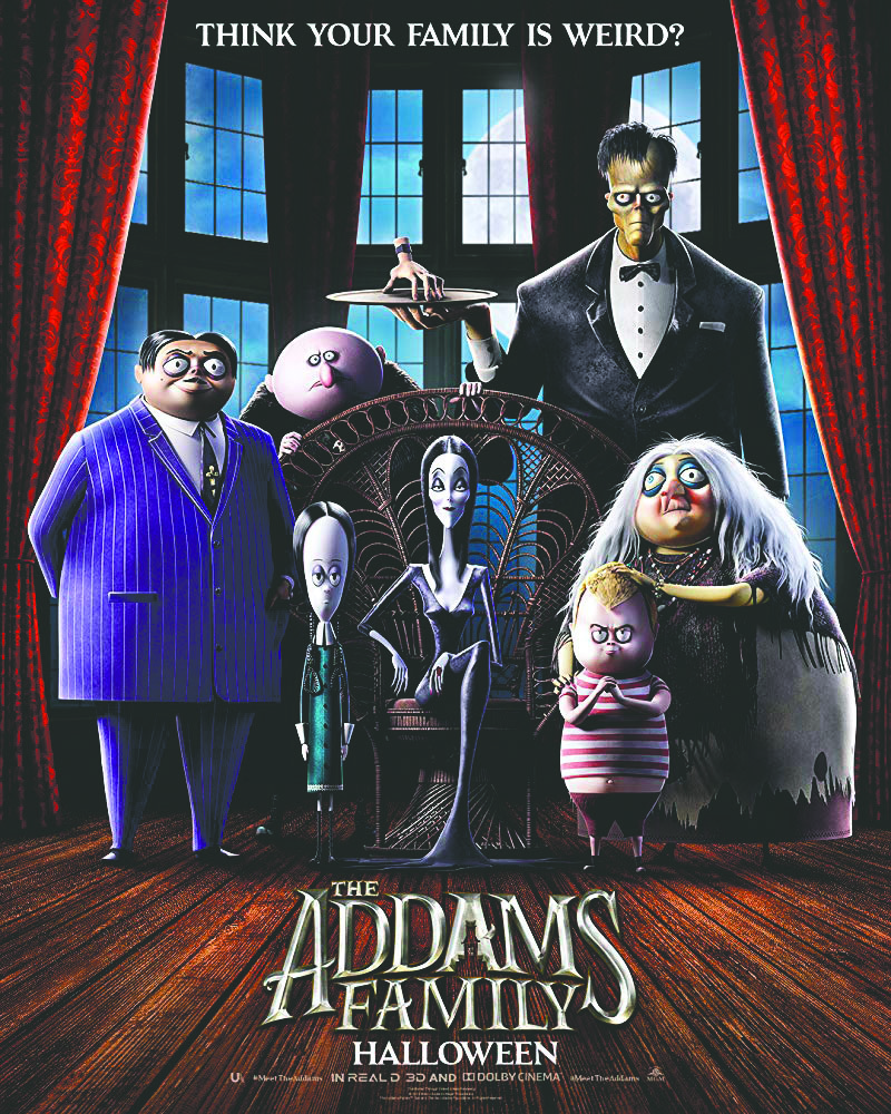 The poster for the most recent adaptation of The Addams Family. Photo courtesy of IMDb.