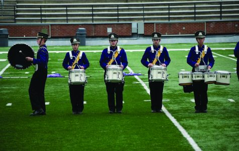Marching band participates in annual competition