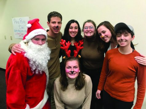 LHS Drama Christmas play tours Lewiston Schools
