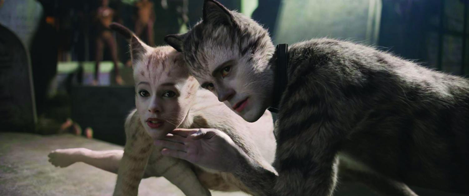 The cats dance as they introduce themselves. Photo courtesy of IMDb.com