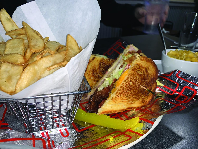 Birche's Grill offers a sandwich. Photo by Sophie Hunter.