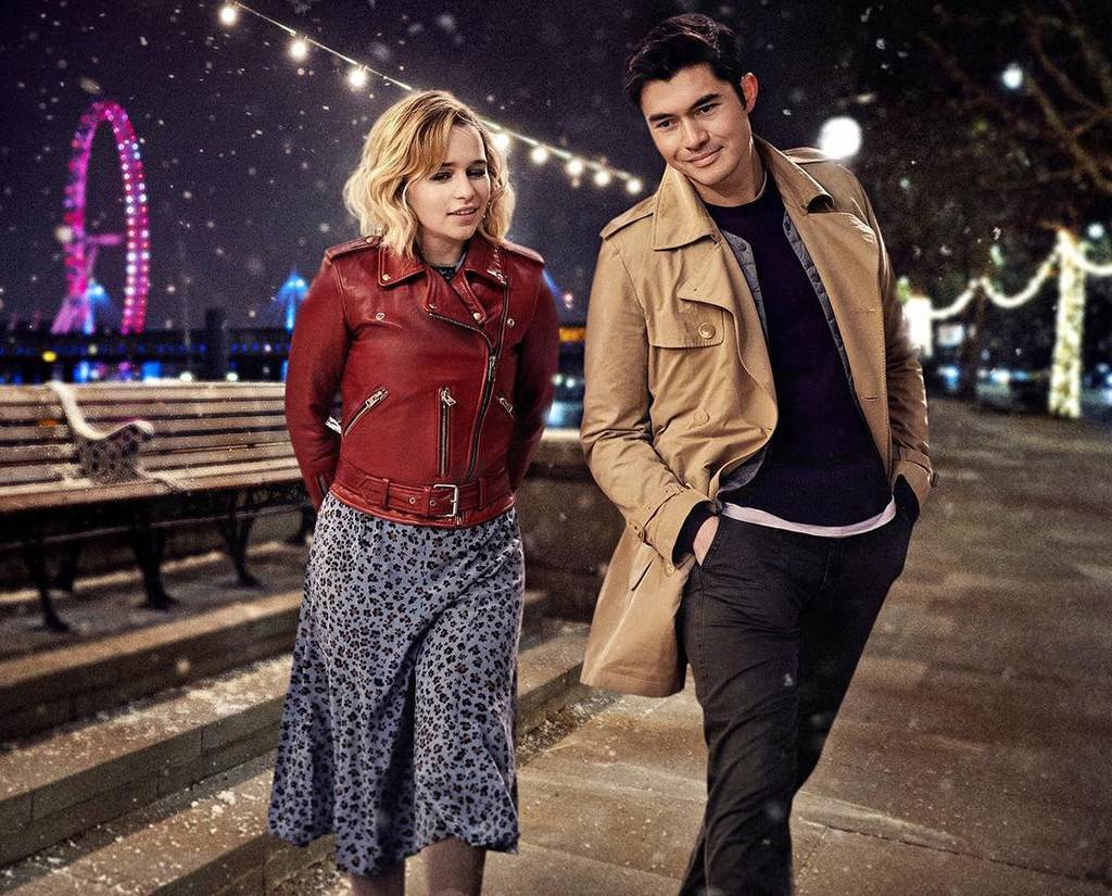 Kate and Tom walk together in the streets of London. Photo courtesy of IMDb.com