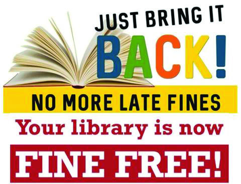 Libraries eliminate late fines