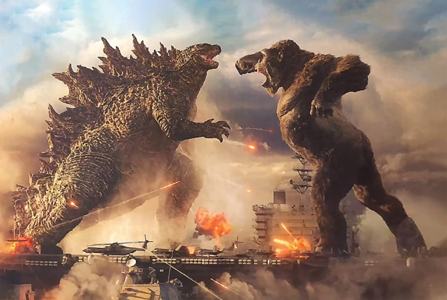 Godzilla vs Kong: A great giant monster fight